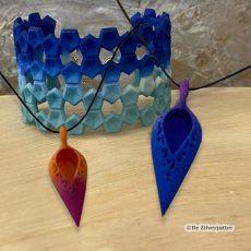 3D geprinte sieraden
