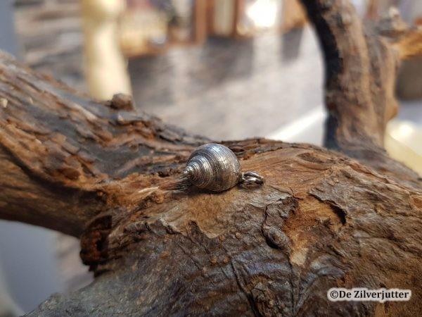 Zilveren Alikruik oxi (M) hanger