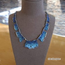 Arior collier INTENZZA electric blue