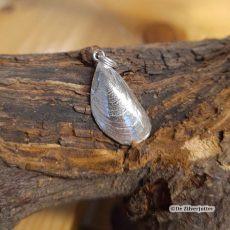 Mossel enkel zilver