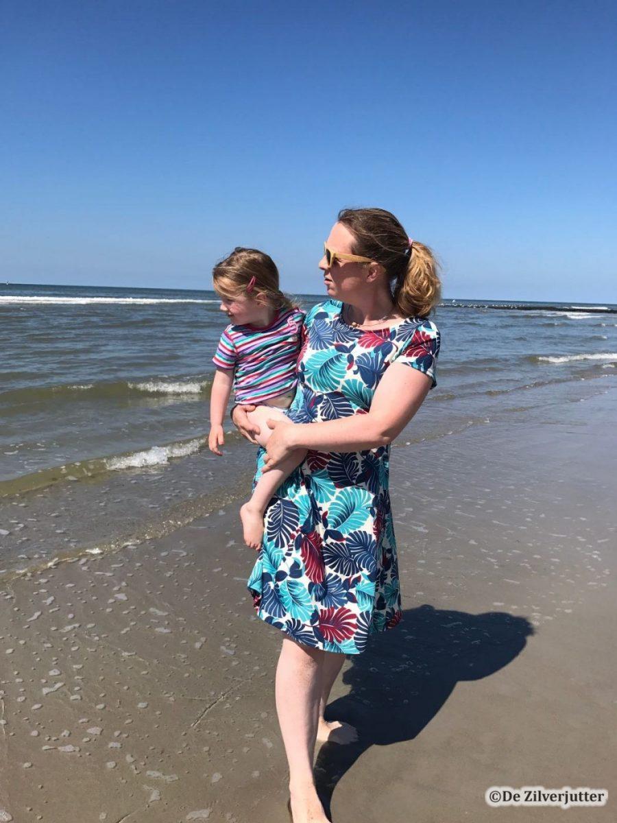 marleen op strand